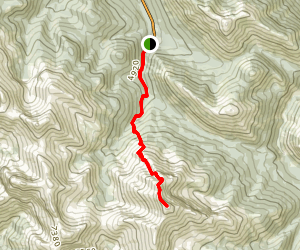 Utopia Mountain Route Map