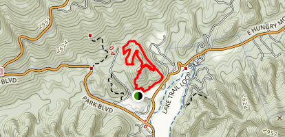 Raiders Run and Old Shawnee Trail Map