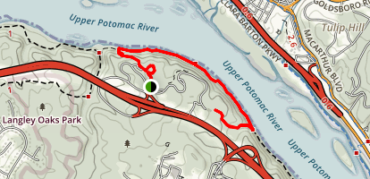 Turkey Run and Potomac Trail Map