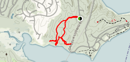 Powell's Creek Nature Trail Map