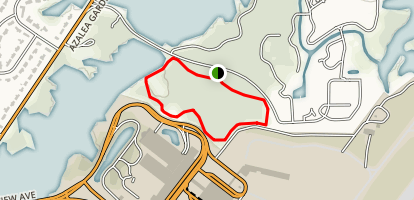 Norfolk Botanical Garden Lake Loop Map