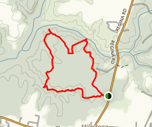Hickory Hollow Trail Map