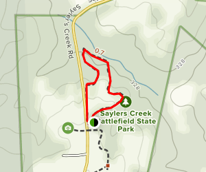 Confederate Overlook Trail Map