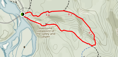 Old Fort Point Trail Map