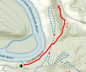 Wildcat Ledge Trail Map