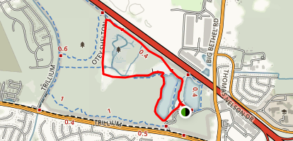 Wetlands Loop Trail Map