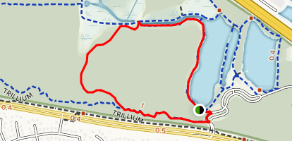 Big Beech Loop Trail Map