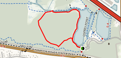 Red Fox Loop Trail Map