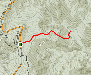 Beahms Gap Hull School Trail Map