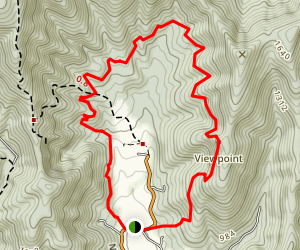 Fortune's Cove Via White Trail Map