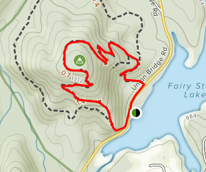 Stuart's Knob Trail Map