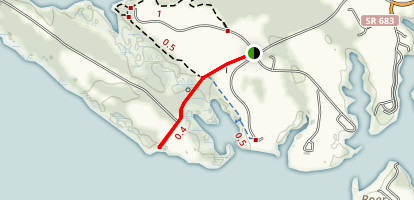 Watch House Trail Map