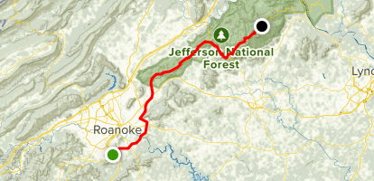 Blue Ridge Parkway South: Roanoke to North Carolina ...