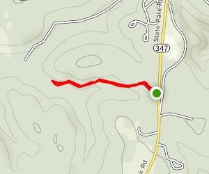 Laurel Point Trail Map