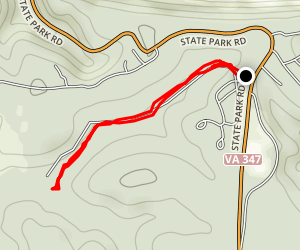 Rock Spring Pond Trail Map