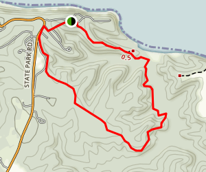 Turkey Neck Trail Map