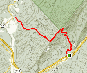 White Rock Tower Trail Map