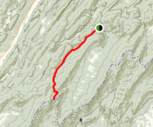 Crack Whip Furnace Trail Map