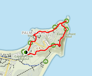 Byron Bay Lighthouse Loop Map