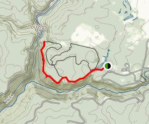 Pase Point Trail Map
