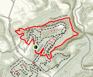 White Oak Loop Trail Map