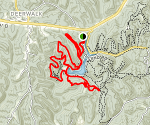 Mountwood Trail Network: Warrior Ridge and Four Corners Trail Map