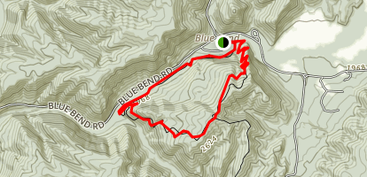 Blue Bend Loop Trail Map
