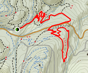 Quercus Trail Map