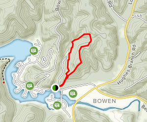 The Overlook Trail Map