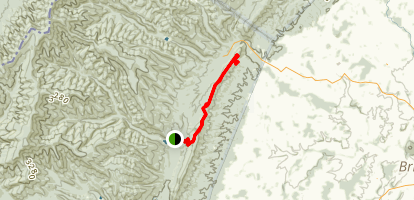 Narrow Back Trail Map