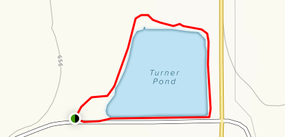 Turner Pond Loop Map