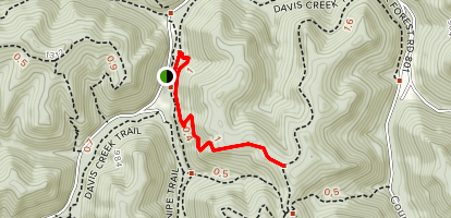 Teaberry Rock Trail Map