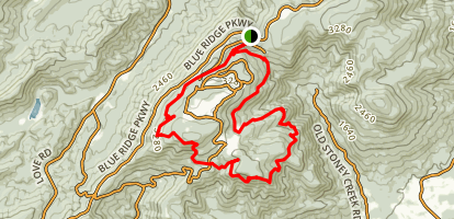 Potatopatch Mountain Loop Map