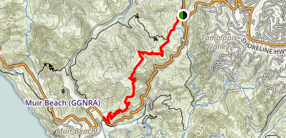 Dias Ridge  Map