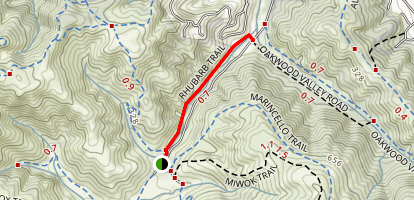 Rhubarb Trail Map