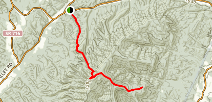 Chimney Hollow Trail Map