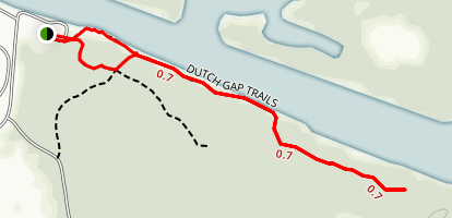 Dutch Gap Trail Map