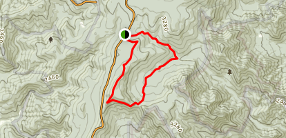 Laurel Prong Loop via Appalachian Trail Map