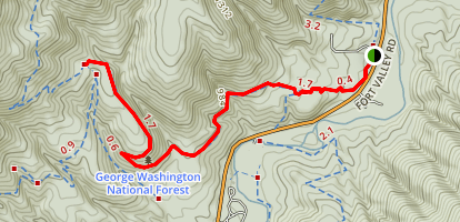 Tuscarora Trail Map