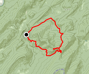 Halfmoon Mountain Trail Map