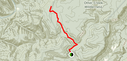 McGowan Mountain Via Yellow Creek Trail Map