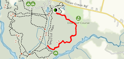 Molly Mitchell Trail Map