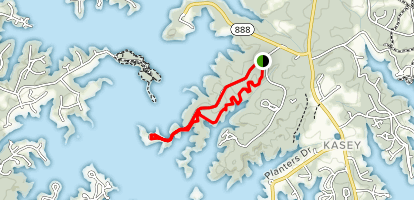 Interpretive Trail Loop Map