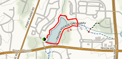 Macedonia Lake Loop Trail Map