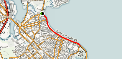Quincy Shore Map