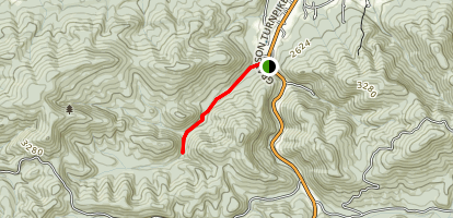 Little Dry Run Trail Map