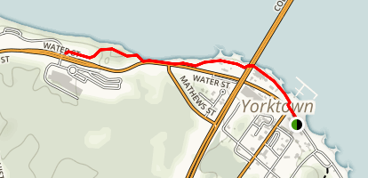Yorktown Waterfront Walk Map