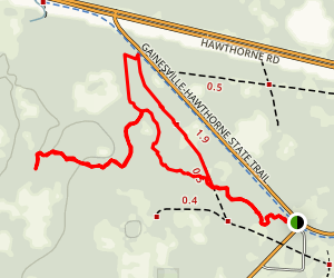 Susan Wright Trail Map