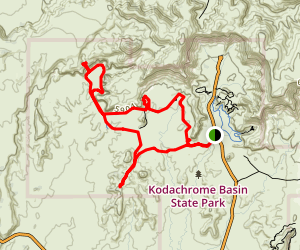 Panorama Trail Long Loop Map