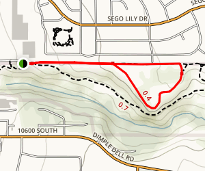 Flanders Point Loop Trail Map